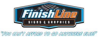 Finishline Signs Logo
